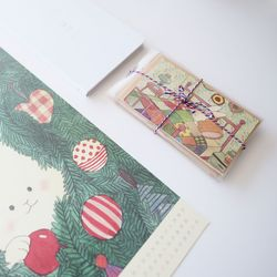 베니 크리스마스 카드 세트(5종)