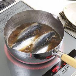 요시카와 IH 다시냄비 22cm 원목핸들