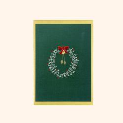 크리스마스 카드 - 캘리 리스