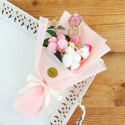 쁘띠 킨더조이 사탕꽃다발