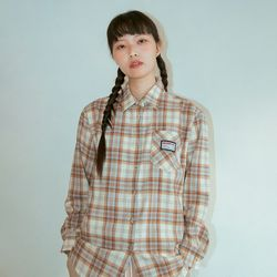 NEONMOON 19W Check Shirt - SKY BLUE