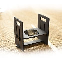 런메이크 맘마 높이각도조절 강아지밥그릇 고양이식기-맘마 1구