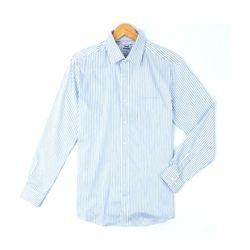 블루 라인 스트라이프 긴팔 와이셔츠DWL51-1