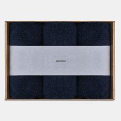 소소모소 타월 3P세트 190g 네이비