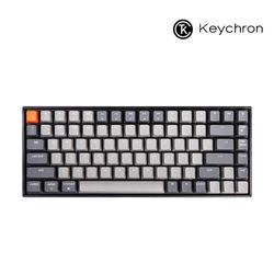 키크론 게이밍 84키 기계식키보드 K2 RGB 라이트그레이