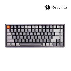 키크론 게이밍 84키 기계식키보드 K2 RGB 알루미늄 다크그레이