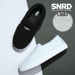 [SNRD] 슬립온 털슬립온 겨울슬립온 털신발 SN580