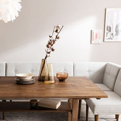 두리 원목 6인 다이닝 테이블 식탁