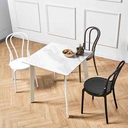 제네로이 2인용 세라믹 식탁 카르보 8320 보우트 의자 세트