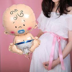 만삭촬영 아기풍선