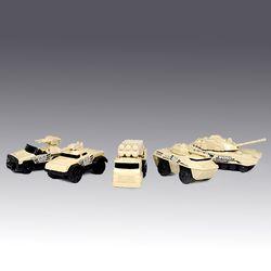 3인치 군용차량 5P세트 (540M76075)