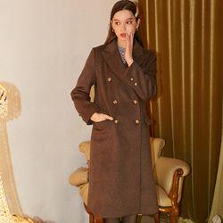 Basic Wool Coat Brown