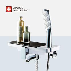 스위스밀리터리 선반형 샤워 욕조 수전 (샤워헤드 거치 일체형)