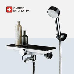 스위스밀리터리 선반형 샤워 욕조 수전 (샤워헤드 거치 개별형)