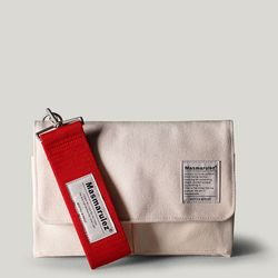 S mini pocket cross bag - Ivory