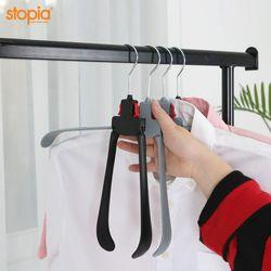 논슬립 원터치 접이식 옷걸이(회전형) 10P