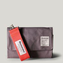 S mini pocket cross bag - Gray