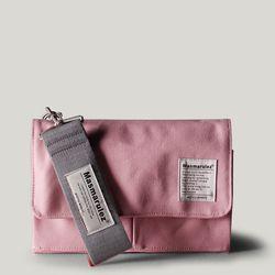 S mini pocket cross bag - Pink