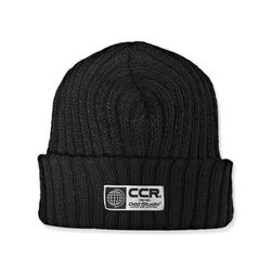 CCR X 오드스튜디오 콜라보 웜톤 니트 비니 - BLACK