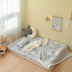 모달 아기 겨울토퍼이불세트 (요토퍼+블랭킷L+솜베개) 모음