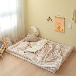 모달 아기 겨울토퍼이불세트 (요토퍼+블랭킷L+라텍스베개) 모음