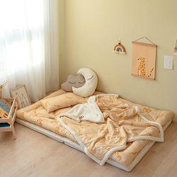 모달 아기 겨울토퍼이불세트 (요토퍼+블랭킷L+비비필로우) 모음