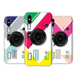 [T]레트로카메라 스마트톡 3D하드.아이폰5S(SE)