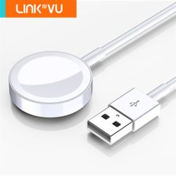 Linkvu 애플워치 전용 마그네틱 무선충전 USB 케이블