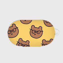 big 안경 gummy 패턴 갤럭시 버즈케이스