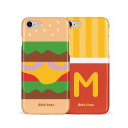 [슬라이드 케이스] Hamburger & French Fries