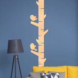 우드스티커 나무와새 (반제품) W549H