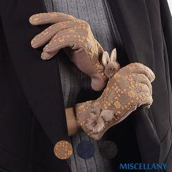 미셀라니 프리미엄 자수장갑 3color 출시기념 사은 고리스타킹