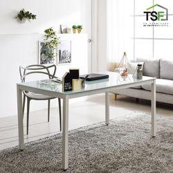 TS-04 강화유리 책상 1500x600 철제 컴퓨터 사무용