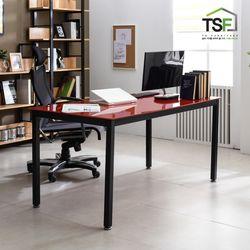 TS-04 강화유리 책상 1200x800 철제 컴퓨터 사무용