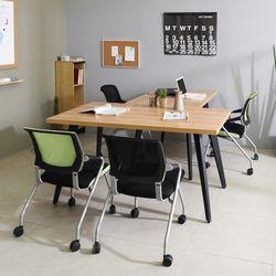 TS식탁 가로1500 다용도테이블 철제식탁 책상 테이블