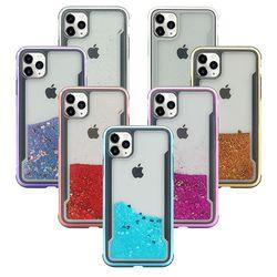 아이폰6플러스 러블리 하트 아쿠아 하드 케이스 P410