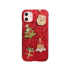 아이폰6S플러스 크리스마스 샤이닝 하드 케이스 P420