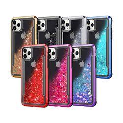 아이폰7플러스 러블리 하트 아쿠아 하드 케이스 P410