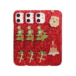 아이폰7플러스 크리스마스 샤이닝 하드 케이스 P420