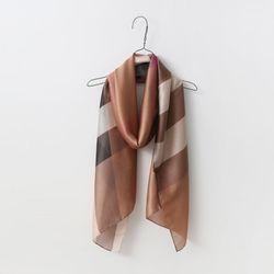 Silk London Long Scarf