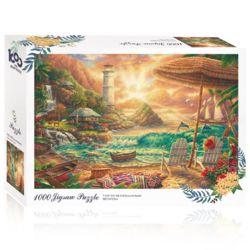 토이앤퍼즐 석양 속 휴가 1000피스 풍경 직소퍼즐