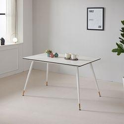 모티브 사각 세라믹 4인 식탁 (의자별도)