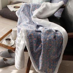 우유빛 백합 블랭킷 담요(2size)