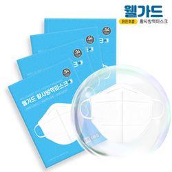 웰가드 2019 신제품 KF94 미세먼지 황사 마스크 일반형 30매