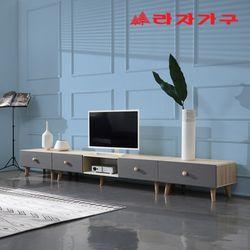 하딩 소프트 비디오형 거실장 세트 2700 A타입
