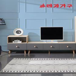 하딩 소프트 서랍형 거실장 세트 2100 C타입