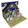 크리스마스 팝업카드-nativity