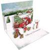 크리스마스 팝업카드-santa @ s truck
