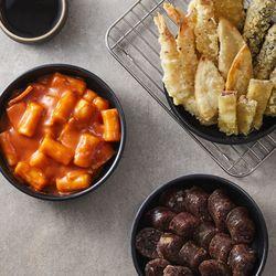 떡튀순 세트 (국물떡볶이500g+순대250g+야채튀김300g)