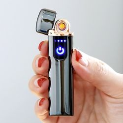 신개념 LED 라이터 USB충전식